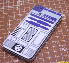 R2D2 iPhone 4 Decal Skin $6