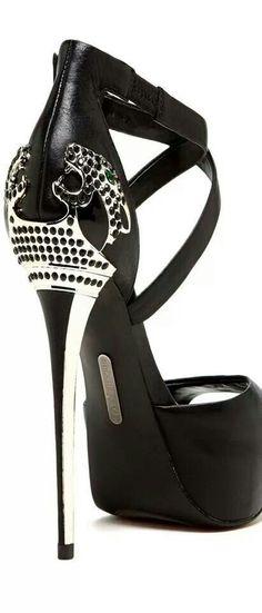 Metal Heel Platform Sandal #Shoes #Heels