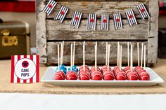 4th of July Flag Cake Pops | The TomKat Studio
