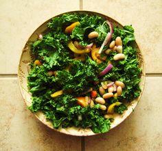 vegan recip, bean salads
