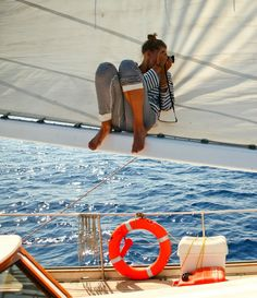 a lifestyle dream for sure. sailing lessons. i doubt i'll ever get there at this point but it's fun to dream still...