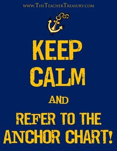 Keep Calm and Refer to the Anchor Chart! - Pinterest Boards - Thousands of ideas and printable anchor charts featured on the following Pinterest boards!  These pinners also have several other wonderful educational boards worth checking out.