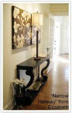Narrow hallway idea