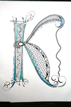 zentangle alphabet patterns - Google Search