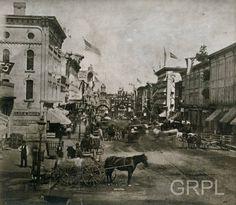 86-117 Monroe Ave during the Centennial Celebration - 1876
