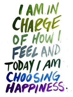 A #beautiful Zen thought - Choose #happiness