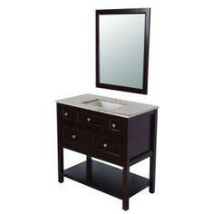 basement bathroom $299 for mirror, vanity & countertop
