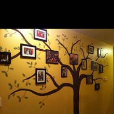 Hand painted Family Tree!