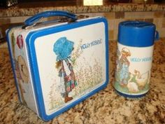 Never had the lunch box but oh how I loved my Holly Hobby watch and plate