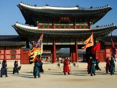 Gyeongbokgung Palace, Seoul, South Korea - daughter born here