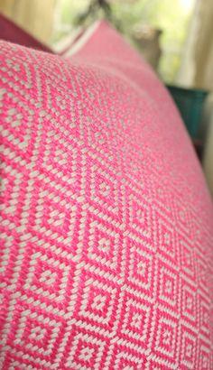 Schumacher  Pink Pillow Cover  Designer Pink by MotifPillows, $57.00