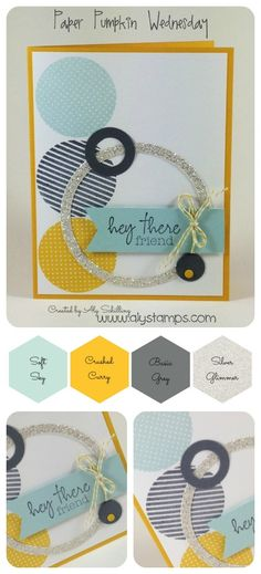 Uses the February Paper Pumpkin Kit & Welcome Kit!