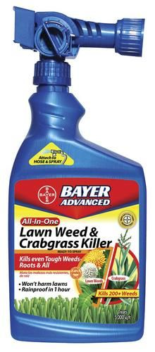 Lawn Weed & Crabgrass Killer at Menards