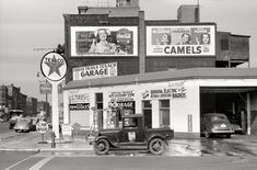 Shorpy Historical Photo Archive :: Indian Trails Texaco: 1940