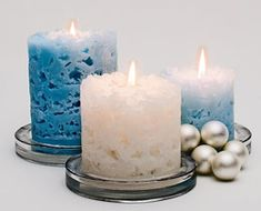 Ice Candle instructions for the easiest candle you can make. Very kid friendly.