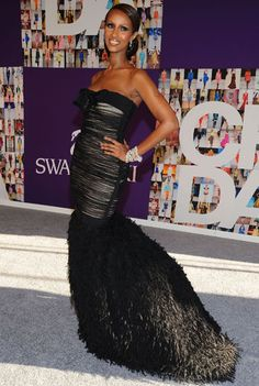 Celebs Hit the CFDA Awards Red Carpet, Iman Named Fashion Icon' - BV on Style