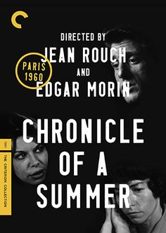 *COMING SOON* Chronicle of a Summer / HU DVD 11005 / http://catalog.wrlc.org/cgi-bin/Pwebrecon.cgi?BBID=12580353