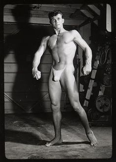 Darryl Powers - vintage beefcake photo