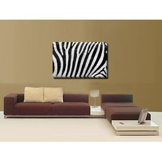 Tablou tiparit digital pe Canvas [Zebra]