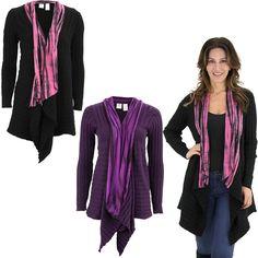 Tie Dye Bamboo Knit Cardigan