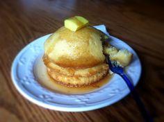Comfort Food Cupcakes (Cupcake Pancakes) by realitybitescupcakes.tumblr.com