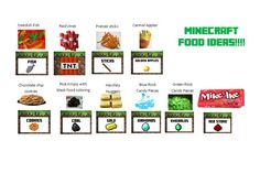 minecraft food printables minecraft free printable food labels minecraft food labels free