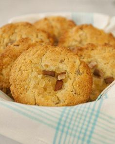Corn Muffins with Pear and Candied Ginger Recipe