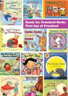 Ready for Preschool - First day of preschool books