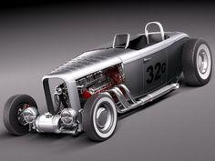 Ford 1932 HotRod Salt L...