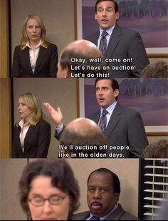50 best moments from The Office. - If you are ever having a bad day take a stroll through this & turn that frown upside down!
