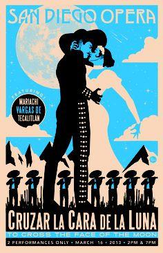 Here is Black's amazing take on our mariachi opera Cruzar la Cara de la Luna.