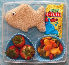 Cookie Cutter Lunch: Something Fishy