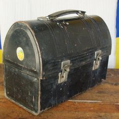 Aladdin Lunchbox Metal Black now featured on Fab.