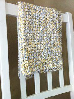 Chunky Crochet Baby Blanket – Tutorial « chucksforchancho