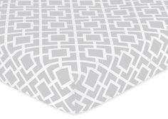 Fitted Crib Sheet for Gray and White Diamond « Clothing Impulse