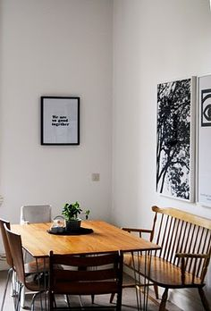 #home #house #rooms #decoration #spaces #dining #wood #art
