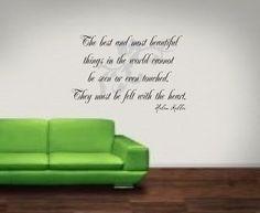 Helen Keller. Love this quote