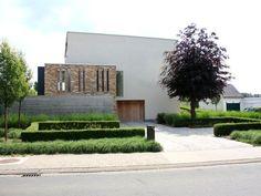 Strak moderne tuinen on pinterest tuin modern gardens for Tuinarchitect modern