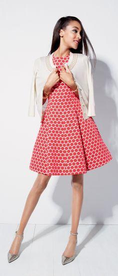 Always darling: Kate Spade dresses.