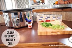 clean eating recipe | jenny collier blog turkey chili