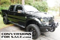 2013 Ford F150 FX4 Tuscany Black Ops Lifted Truck