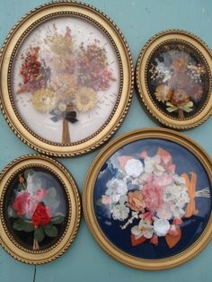 Vintage dried flowers from Out There Interiors.com