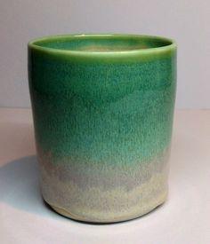 Copper on rutile glaze, Annie Jennings