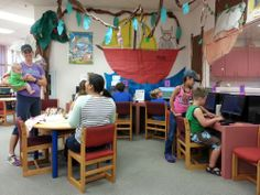 When it's Spring Break, kids have fun at the Library!