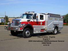 Galax Fire Department, Galax, VA - Engine 3 - 2009 International 7400 ...: http://pinterest.com/pin/294493263106380569