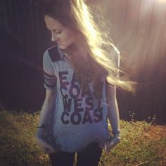 This shirt is my love story... k @Free People   Guess who's from which coast??? ;) ♥, Kels xoxo
