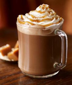 Starbucks salted caramel hot chocolate...fall is here!