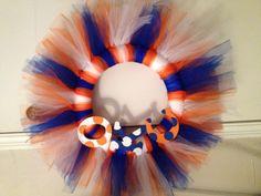 OKC Thunder wreath