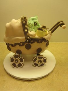 Baby buggy cake