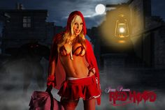 Jenny Poussin 'Red Hood Society' by Digitalrdw by jennypoussin.deviantart.com on @deviantART